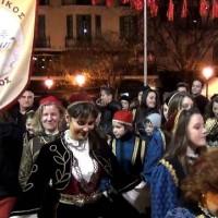 Η εμφάνιση του Φανού της Σκ'ρκας στην κεντρική πλατεία! Δείτε το βίντεο…