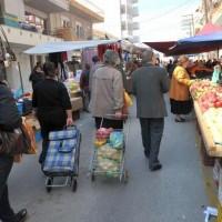 Αλλαγή ημερομηνίας της λαϊκής αγοράς στην Κοζάνη λόγω της γιορτής της 25ης Μαρτίου