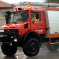 Αναστάτωση στο κέντρο του Βελβεντού το πρωί του Σαββάτου από φωτιά σε αγροτικό όχημα