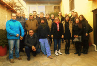 Επίσκεψη του τμήματος Οικιακής παραγωγής οίνου του ΚΔΒΜ του Δ. Κοζάνης σε οινοποιεία της περιοχής