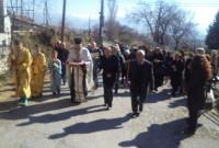 Με λαμπρότητα η υποδοχή των Ιερών λειψάνων του Αγίου Νικάνορα στην Κερασιά Κοζάνης – Δείτε φωτογραφίες