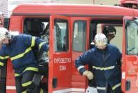 Πυρκαγιά σε ΙΧ αυτοκίνητο έξω από την Κοζάνη