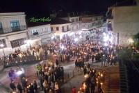 Δείτε βίντεο και φωτογραφίες από την Ανάσταση στη νέα κεντρική πλατεία των Σερβίων