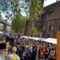 Η εικόνα της Παναγίας Σουμελά στη Νυρεμβέργη της Γερμανίας – Δείτε το βίντεο