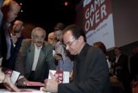 Ο Γιώργος Παπακωνσταντίνου παρουσίασε το βιβλίο του «GAME OVER Η αλήθεια για την κρίση»