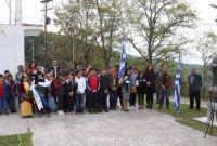 Η Επιμνημόσυνη Δέηση στην Ιερά Μονή Βαζελώνος για την Γενοκτονία των Ποντίων από τους Τούρκους