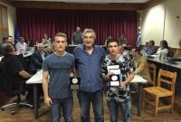 Βίντεο: Βραβεύσεις των νέων ποδοσφαιριστών Ζήνων Πιτσιάβα και Χρήστο Σαλτσίδη από τον Δήμαρχο Σερβίων – Βελβεντού