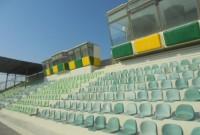Αναβαθμίστηκε το γήπεδο Πτολεμαΐδας με την τοποθέτηση 800 καθισμάτων στις κερκίδες του
