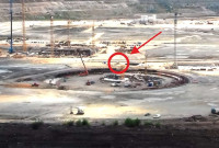 Παραλίγο τραγωδία στο εργοτάξιο της 5ης μονάδας της ΔΕΗ! Γερανός σωριάστηκε στο έδαφος σαν χάρτινος πύργος