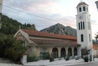 Τέλεση Θείας Λειτουργίας του Αγίου Ιακώβου στον Ι.Ν. Αγίας Κυριακής στα Σέρβια