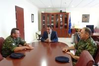 Επίσκεψη του Διοικητή της 1ης Στρατιάς Αντιστράτηγου Ηλία Λεοντάρη στην Περιφέρεια Δυτικής Μακεδονίας