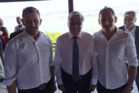 Στο εστιατόριο των αδερφών Ναουμίδη στη λίμνη Βεγορίτιδα γευμάτισε ο Πρόεδρος της Δημοκρατίας