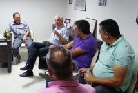 Συνάντηση της ΑΕ Ποντίων – Καραγιαννίων με τον παλαίμαχο ποδοσφαιριστή Κούλη Αποστολίδη στην Εύξεινο Λέσχη Κοζάνης