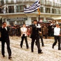 Η φωτογραφία της ημέρας: Παρέλαση 28ης Οκτωβρίου του 1978 με χιόνι στην Κοζάνη!
