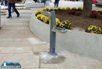 Μια «πρωτότυπη» βρύση τοποθετήθηκε στην κεντρική πλατεία της Κοζάνης – Δείτε φωτογραφίες