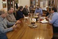 Το Δημαρχείο Κοζάνης επισκέφθηκε ο Αναπληρωτής Υπουργός Αγροτικής Ανάπτυξης και Τροφίμων Μάρκος Μπόλαρης