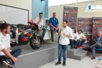 Κοζάνη: Δείτε βίντεο και φωτογραφίες από την παρουσίαση των αποτελεσμάτων της ομάδας φοιτητών Tyφoon MotoRacing στον παγκόσμιο διαγωνισμό της Ισπανίας