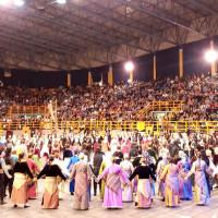 Η φωτογραφία της ημέρας: Μεγάλη συγκίνηση στο φετινό 12ο Πανελλαδικό Φεστιβάλ Ποντιακών Χορών στην Ξάνθη