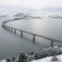 Η φωτογραφία της ημέρας: Υπέροχη χειμωνιάτικη θέα από το «μπαλκόνι» της Νεράιδας