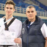 Στο Παγκόσμιο Πρωτάθλημα Taekwondo στον Καναδά ο αθλητής της Μακεδονικής Δύναμης Μπουντιούκος Σπινάρης Αθανάσιος