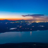 Η φωτογραφία της ημέρας: Εξαιρετική άποψη περιοχών της Κοζάνης από τον Άγιο Χριστόφορο Προσηλίου