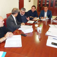 Συνάντηση συντονισμού και αποφάσεων για την ανάπτυξη του Μαμάτσειου Νοσοκομείου