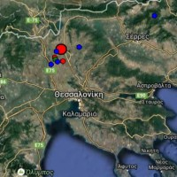 Σεισμός στη Θεσσαλονίκη: Ισχυρή δόνηση ταρακούνησε την Κεντρική Μακεδονία