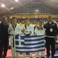 3 μετάλλια για τους αθλητές της Μακεδονικής Δύναμης Κοζάνης στο διεθνές πρωτάθλημα taekwondo της Βουλγαρίας