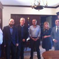 Συνάντηση του Πανελλήνιου Δικτύου Συμπαραστατών με τον Υπουργό Εσωτερικών Πάνο Σκουρλέτη