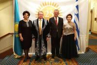 Στη γιορτή για την 25η επέτειο Ανεξαρτησίας του Καζακστάν ο βουλευτής του ΣΥΡΙΖΑ Κοζάνης Γ. Ντζιμάνης