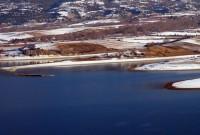 Σε απίστευτα χαμηλά επίπεδα για την εποχή η στάθμη της λίμνης Πολυφύτου