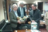 Το συνολικό σχέδιο της Περιφέρειας Δυτικής Μακεδονίας για την αγροτική ανάπτυξη παρουσίασε ο Περιφερειάρχης στον υπουργό Αγροτικής Ανάπτυξης