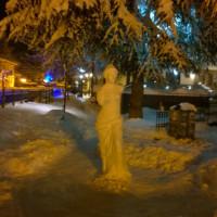 Η Αφροδίτη της… Φλώρινας! Γλυπτό στα χιόνια που μαγεύει – Δείτε φωτογραφίες