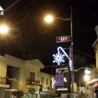 Ασθενής χιονόπτωση με -11 βαθμους το βράδυ της Δευτέρας στην Κοζάνη! Δείτε το βίντεο