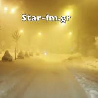 Δείτε το βίντεο από τη μεγάλη χιονοθύελλα το βράδυ της Τετάρτης στα Γρεβενά!