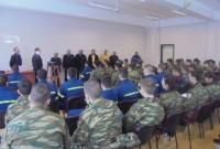 Τους 93 Δόκιμους Πυροσβέστες υποδέχτηκε ο Δήμαρχος Εορδαίας στην Πυροσβεστική Σχολή της Πτολεμαΐδας