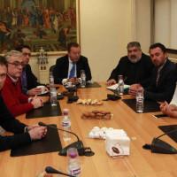 Επίσκεψη του υφυπουργού Αγροτικής Ανάπτυξης Β. Κόκκαλη στον Περιφερειάρχη Δυτικής Μακεδονίας Θ. Καρυπίδη