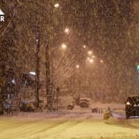 Το έστρωσε για τα καλά στην Κοζάνη τα ξημερώματα της Πέμπτης! Δείτε βίντεο από την ισχυρή χιονόπτωση