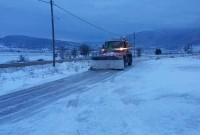 Η κατάσταση του οδικού δικτύου στη Δυτική Μακεδονία – Που χρειάζονται αλυσίδες