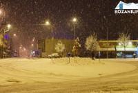 Πολύ χιόνι και κρύο στην Κοζάνη πέρυσι τέτοια εποχή – Δείτε τα βίντεο
