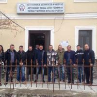 Περιοδεία της Πανελλήνιας Ομοσπονδίας Συνοριακών Φυλάκων στη Δυτική Μακεδονία
