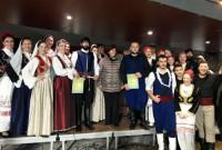 Ο Χορευτικός Όμιλος Χανίων Κρήτης «Αροδαμός» φιλοξενήθηκε από τους «Μακεδνούς» το τριήμερο της Μικρής Αποκριάς