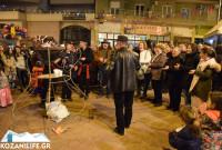 Πολύ κέφι στο γλέντι του Φανού «Αριστοτέλης» στην Κοζάνη – Δείτε φωτογραφίες