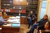Συνάντηση του Βουλευτή ΣΥΡΙΖΑ Κοζάνης Γ. Θεοφύλακτου με τον Σύλλογο Ανέργων και Ανάπτυξης Αγίου Δημητρίου – Ρυακίου