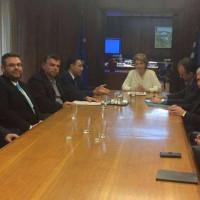 Συνάντηση του Δικτύου Δημοτικών και Περιφερειακών Συμπαραστατών με την Υπ. Διοικ. Ανασυγκρότησης Ολγα Γεροβασίλη για την εφαρμογή της Ηλεκτρονικής Διακυβέρνησης