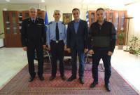 Επίσκεψη του Διοικητή της Πυροσβεστικής Ακαδημίας Αθηνών στον Περιφερειάρχη Δυτικής Μακεδονίας