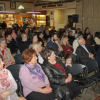 Η ανάγνωση ποιημάτων από όλους τους συμμετέχοντες στην Παγκόσμια Ημέρα Ποίησης στο Λαογραφικό Μουσείο Κοζάνης