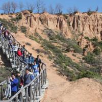 Το Γεωπάρκο των Μπουχαριών επισκέφτηκε το Γυμνάσιο Λευκοπηγής, την Πέμπτη 30 Μαρτίου