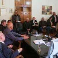 Συνάντηση γνωριμίας του νέου Προέδρου του Δημοτικού Συμβουλίου Βοΐου κ. Τζιλίνη Ελευθέριου με τους Προέδρους των Τ.Κ. του Δήμου Βοΐου