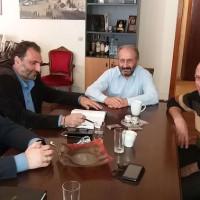 Συνάντηση Δημάρχου Εορδαίας και μελών την νέας Ν.Ε. του ΣΥΡΙΖΑ Κοζάνης